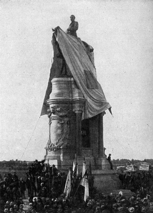 lee monument unveiling richmond