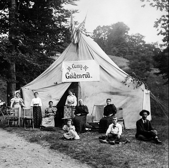 Vintage Summer Camp Photos