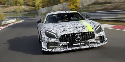 Mercedes-AMG GTR PRO Is an Even More Track-Focused Machine