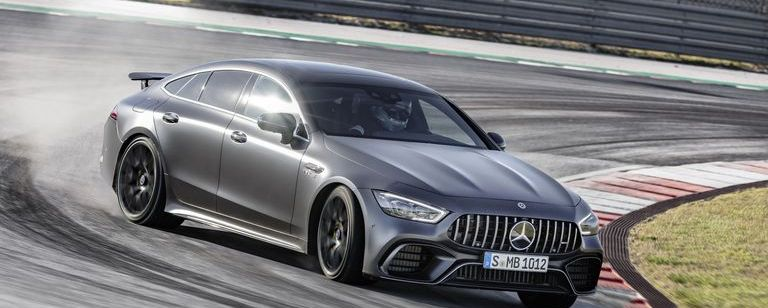 2019 Mercedes-AMG GT 4-Door Coupe: 630 Horsepower for You and Three Friends