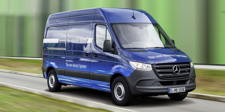 Mercedes benz will make an electric sprinter van for Mercedes benz make