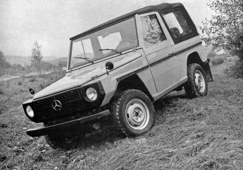 Vier Jahrzehnte G-schichte: Mercedes-Benz G-Klasse: Seit 1979 stilsicher durchs Gelände