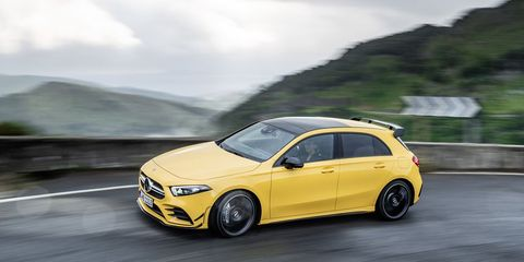 2020 Mercedes-AMG A45 Will Have a Super Trick All-Wheel Drive System