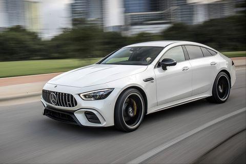 Mercedes-AMG GT 53 4MATIC+ 4-Door Coupe. Austin 2018