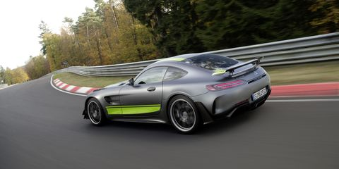 2019 Mercedes Amg Gt R Pro Debuts At Los Angeles Auto Show