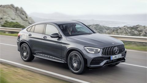 2020 Mercedes Amg Glc43 Suv And Coupe Get More Power Better