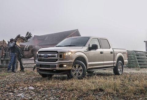 Two Million Ford F 150 Trucks Are Recalled Over Fire Concerns