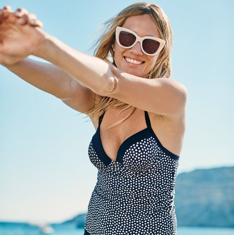 f289c70ad9 Boden is selling a stylish polka dot tankini - and fans are loving it