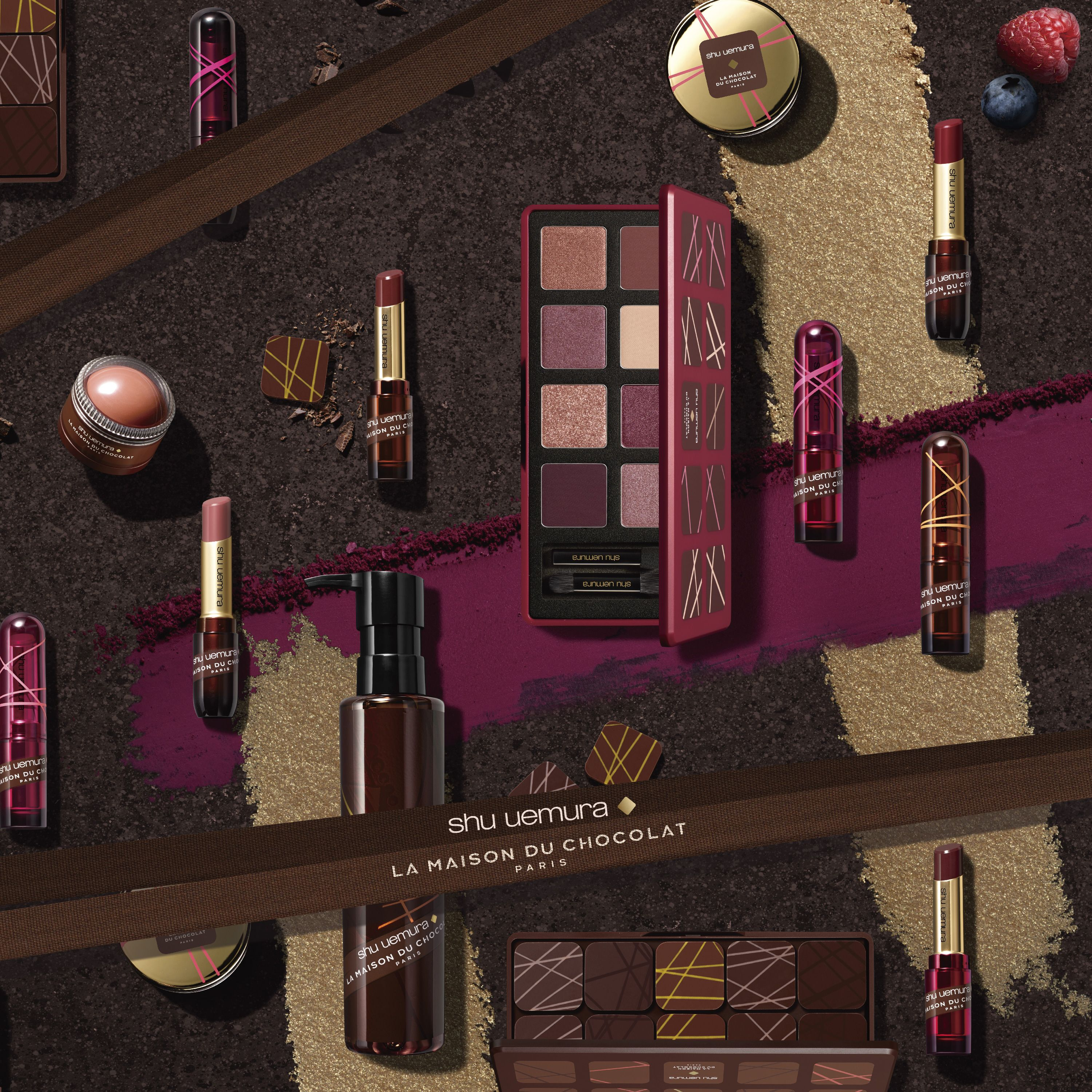Shu Uemura Is Collaborating With La Maison Du Chocolat 3 Complete Shades Of Collaboration Limited Edition