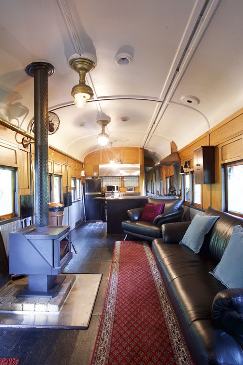 Airbnb For Cars >> Converted Train Car Airbnbs You Can Stay in This Weekend