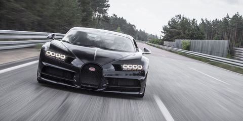 You Can Only Reach the Bugatti Chiron's Top Speed If the Car