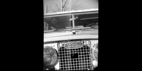 British trucks photographed with Coronet Xcel camera