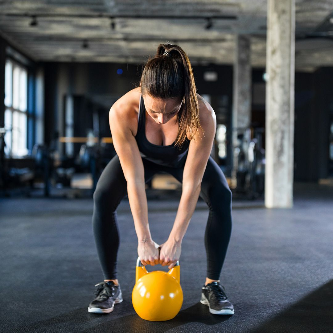 You don't need an hour in the gym: here's a 16-minute kettlebell workout