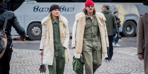 Pitti Uomo Menswear Street Style Florence Fall 2018