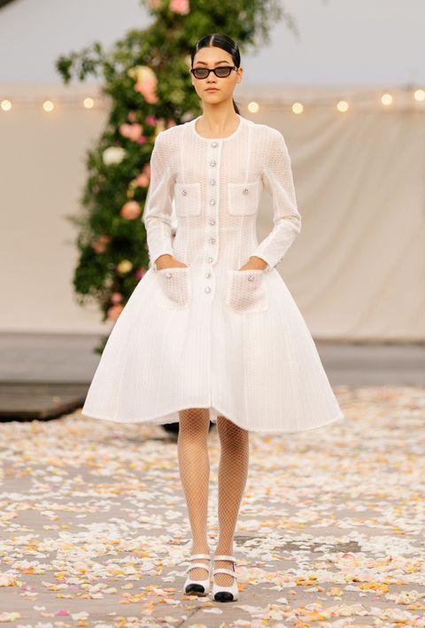 chanel, 2021 spring summer, haute couture, mika schneider