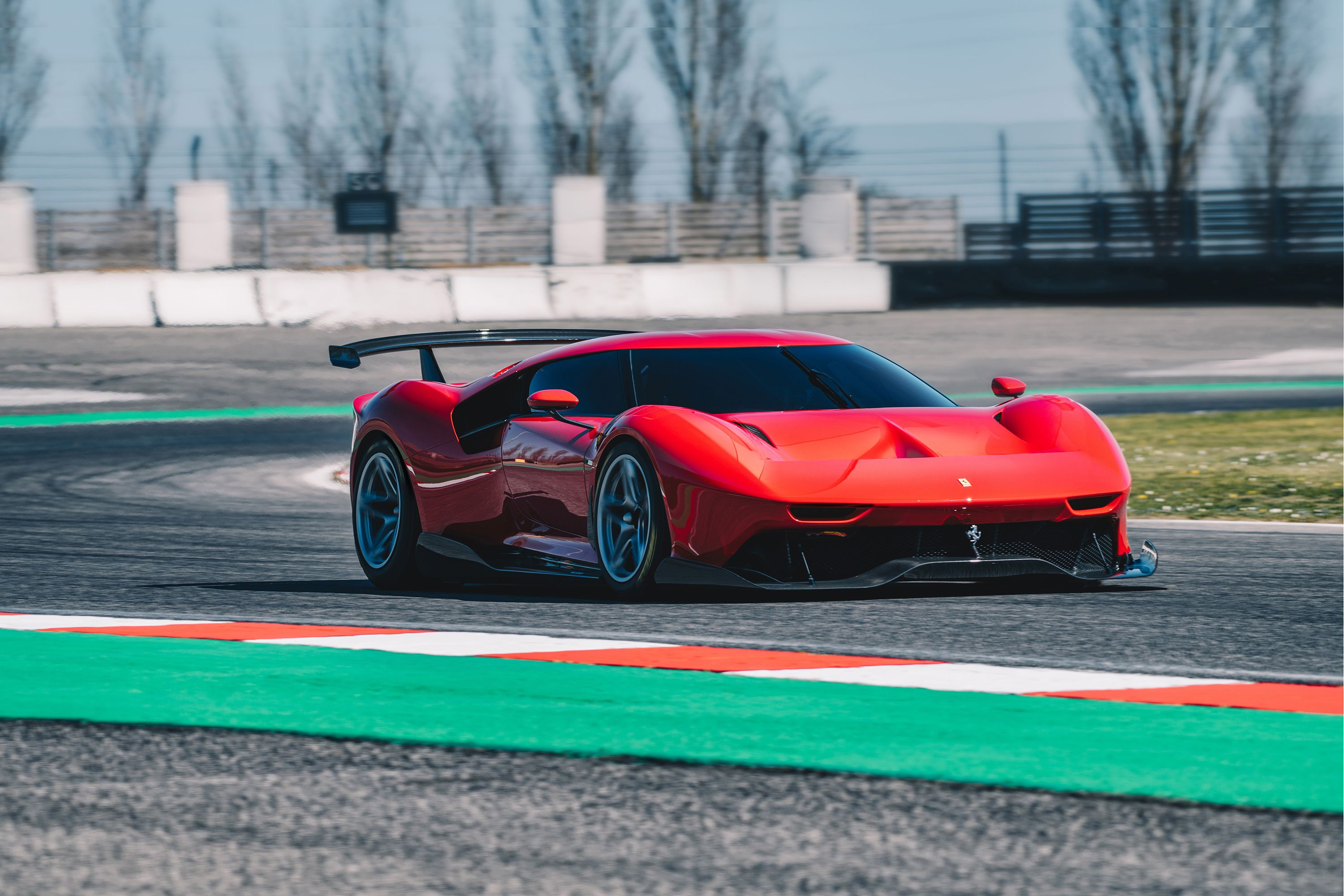 The Ferrari P80 C Is A Two In One Track Car And Garage Beauty And There S Only One