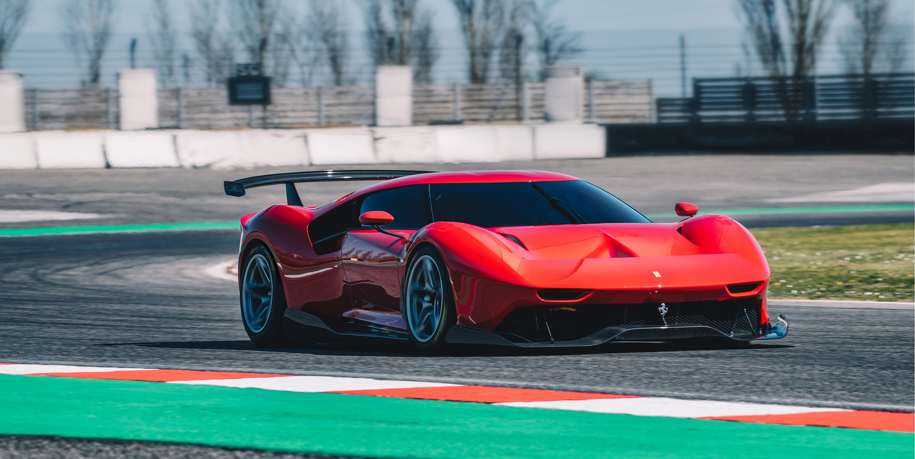 The Ferrari P80/C Is a Two-in-One Track Car and Garage Beauty, and There's Only One