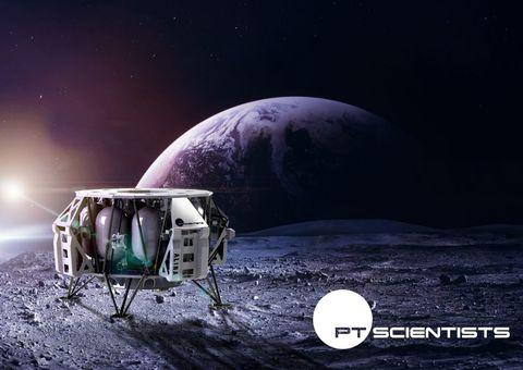 lunar regolith lander