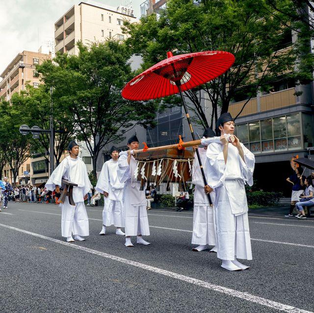 婦人画報 京都 祇園祭 鷹山 巡行