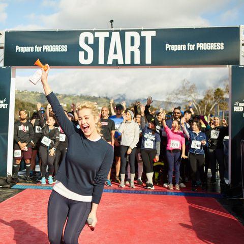 Sky, Recreation, Running, Half marathon, Marathon, Advertising, Physical fitness, Exercise, Sports, Individual sports,