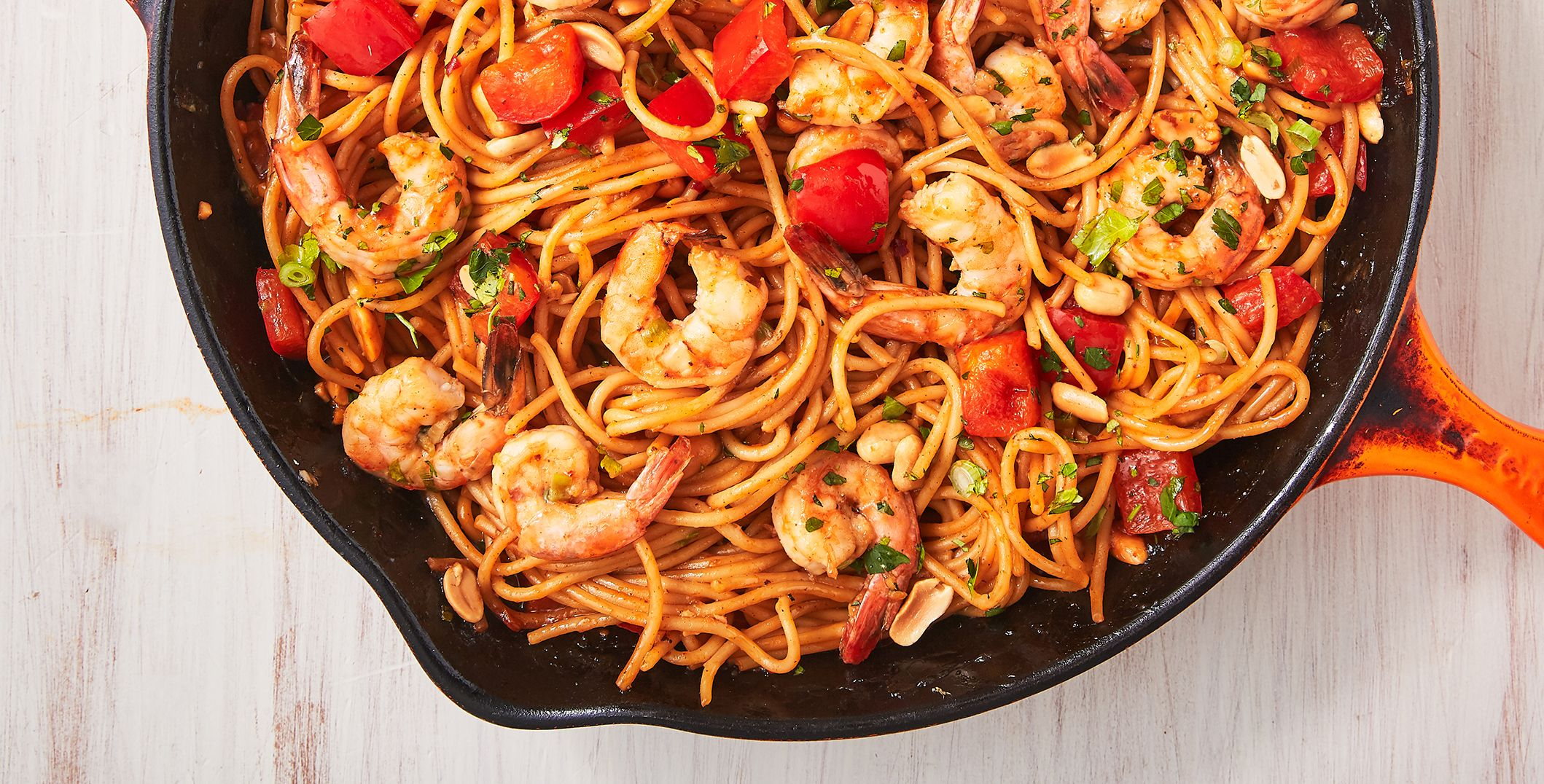 Shrimp Kung Pao Noodles