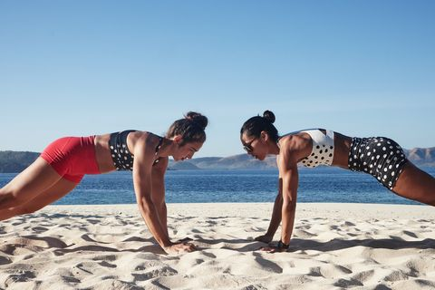Physical fitness, Vacation, Fun, Stretching, Leg, Arm, Summer, Beach, Joint, Yoga,
