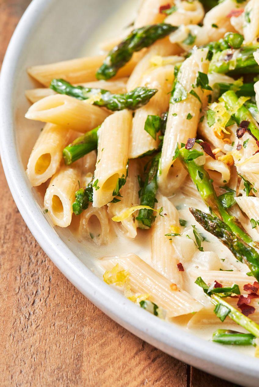 Lemony Asparagus Pasta - Delish.com