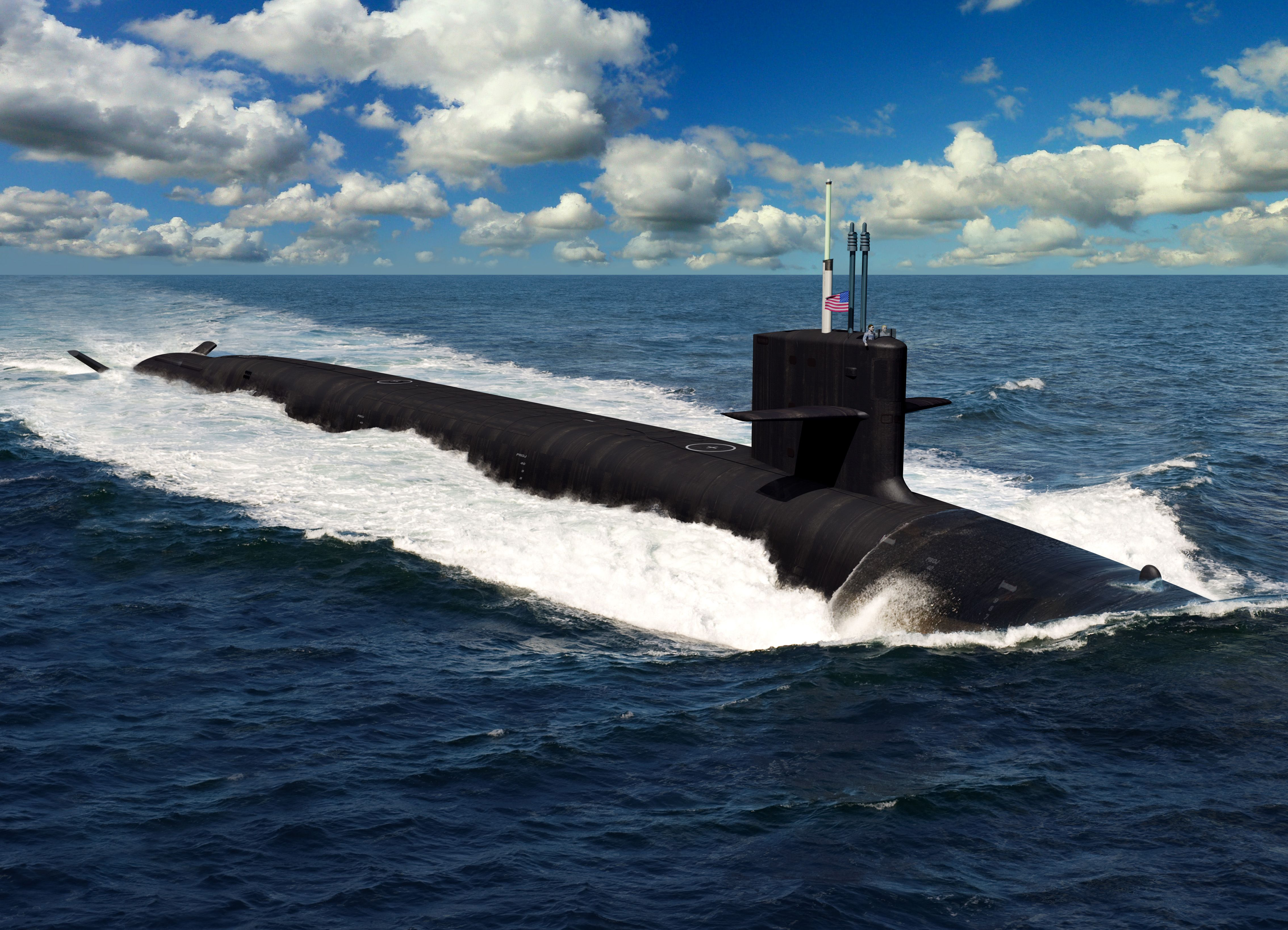 The U.S. Officially Begins Building Its New Missile Submarine
