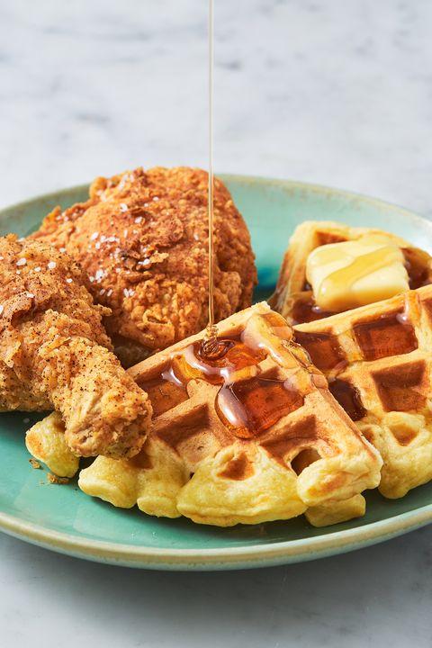 Chicken & Waffles - Delish.com