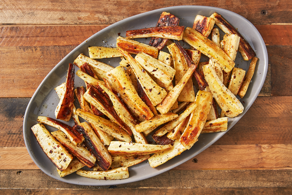 Perfectly Roasted Parsnips