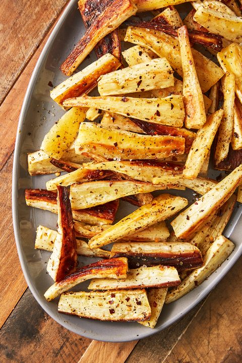Roasted Parsnips - Delish.com