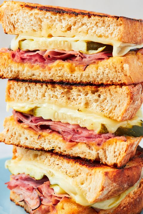 Ham & Cheese Sandwich - Delish.com