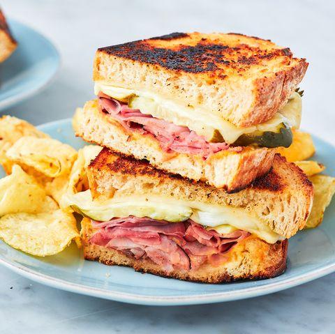 Ham & Cheese Sandwich - Delish.com