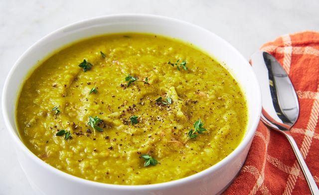 split pea soup   delishcom