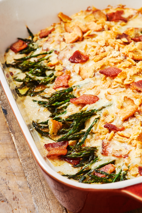 Cheesy Bacon Asparagus Casserole - Delish.com