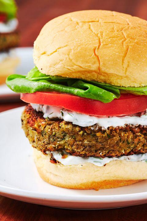 falafel burgers delishcom
