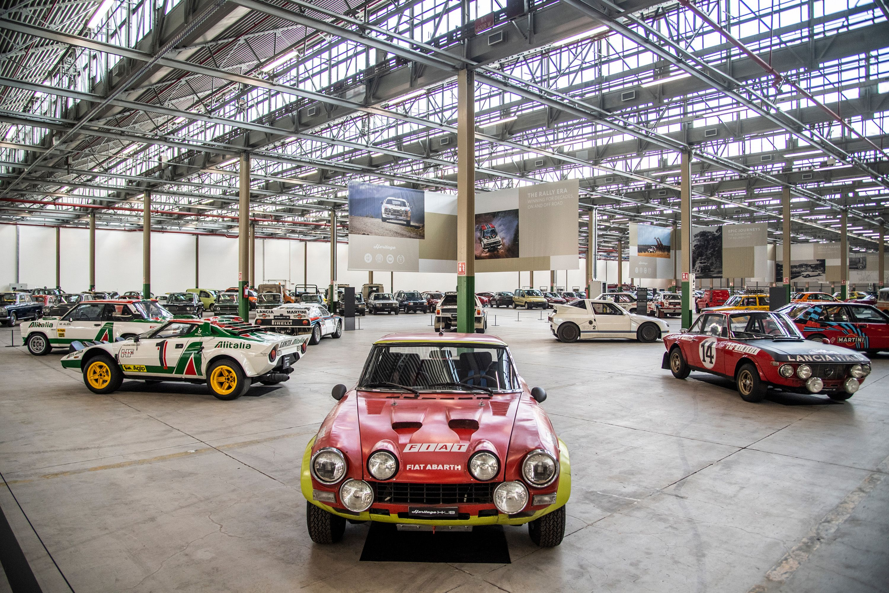 Fiat Chrysler's New Heritage Hub Features 258 Cool Cars