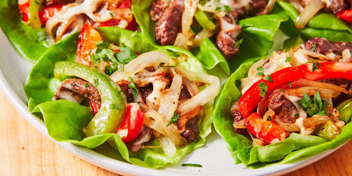 Best Philly Cheesesteak Lettuce Wraps Recipe How To Make