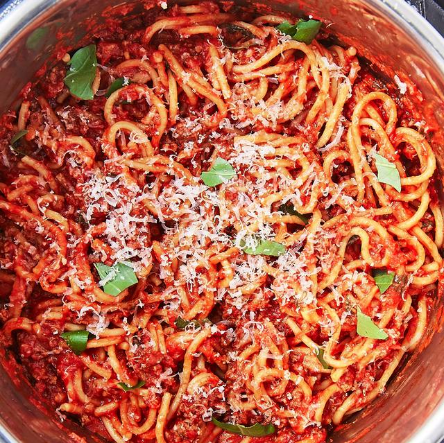 Instant Pot Spaghetti - Delish.com