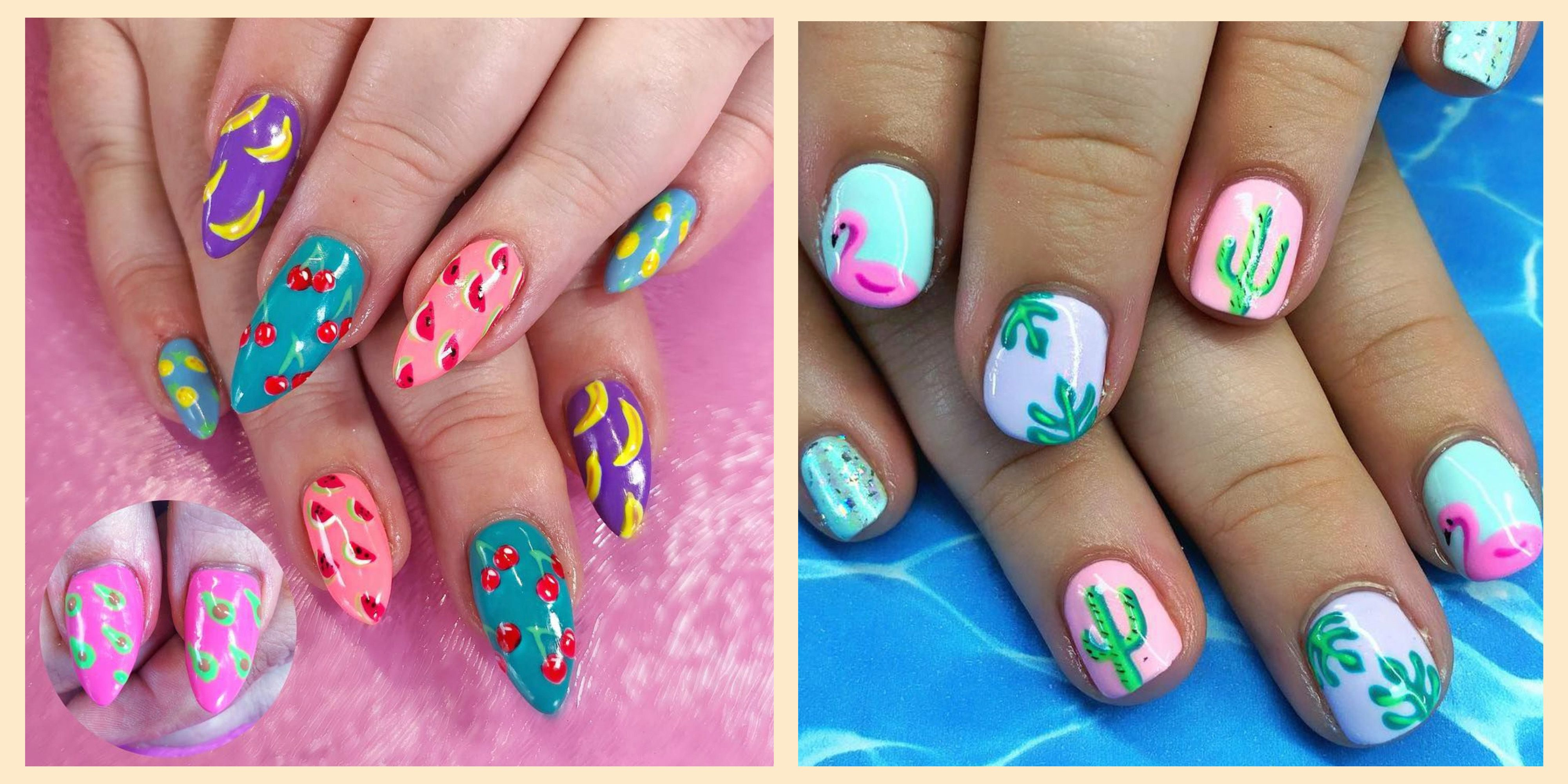30 Summer Nail Art for 2019 , Best Nail Polish Designs for
