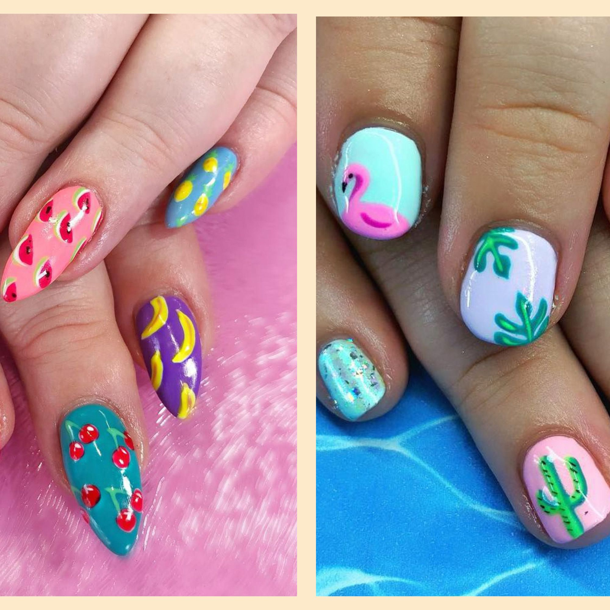 Easy Nail Designs For Summer