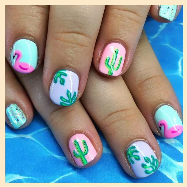 15 Cool Nail Art Designs: Best Nail Polish Designs For