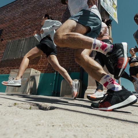 Fun, Recreation, Footwear, Leg, Tourism, Muscle, Human leg, Leisure, Running, Jumping,