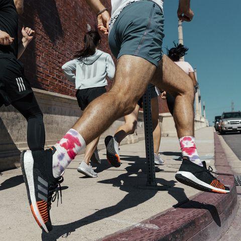 Leg, Human leg, Footwear, Recreation, Nike free, Human body, Muscle, Physical fitness, Shoe, Running,