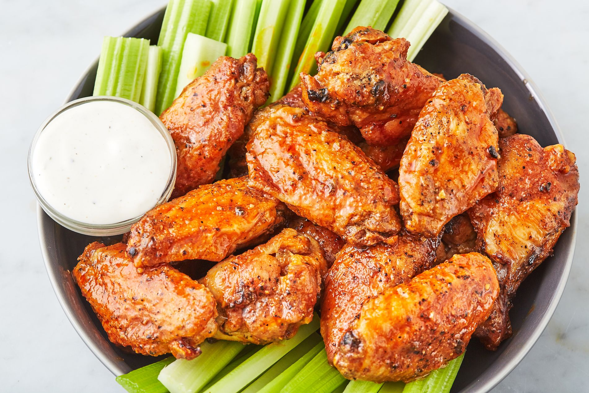 air fryer chicken wings dry rub recipe