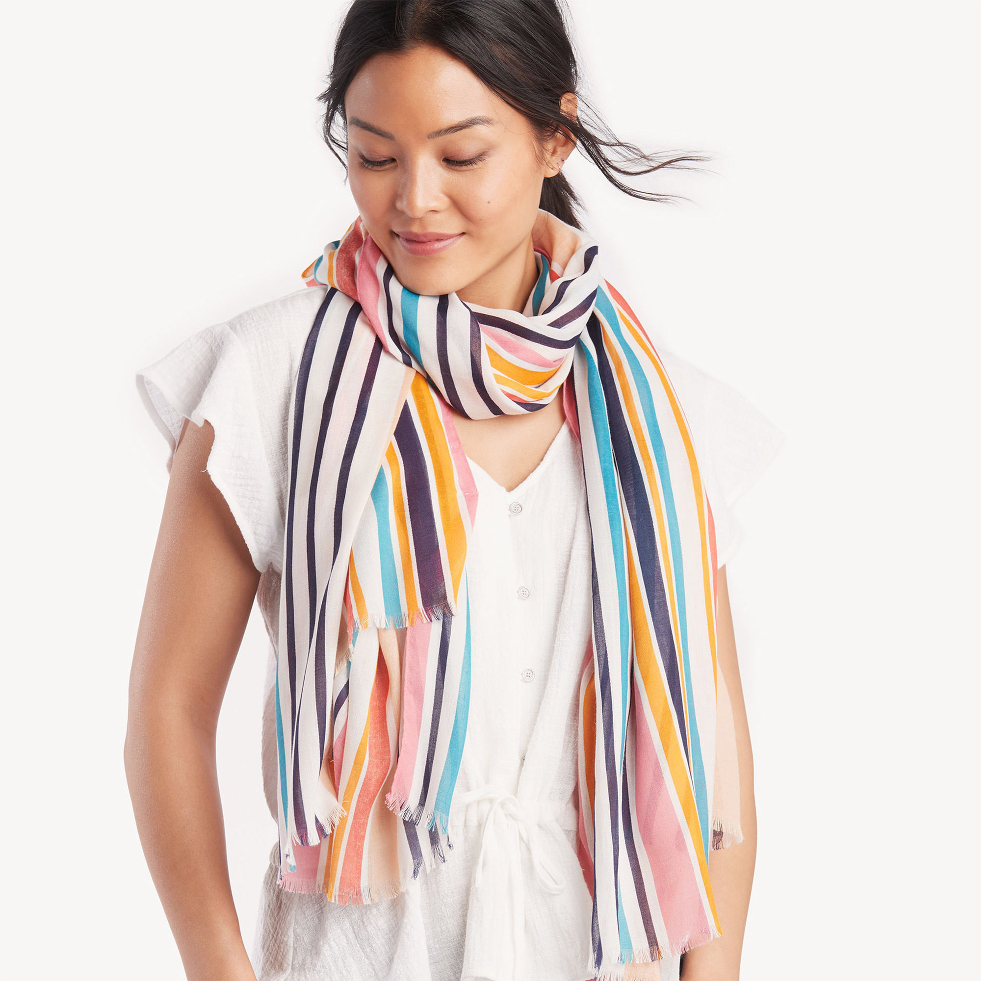 14 Stylish Summer Scarves and How to Wear Them With Anything