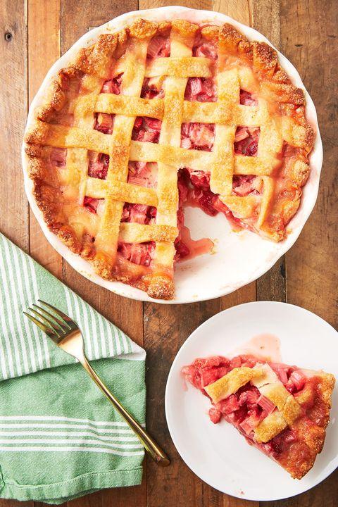 Strawberry Rhubarb Pie - Delish.com
