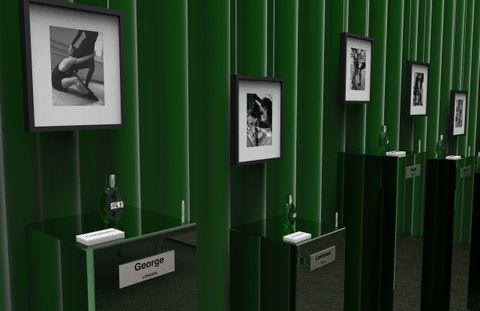 Green, Restroom, Plumbing fixture, Room, Toilet, Bathroom, Door, Interior design, Changing room, Plumbing,