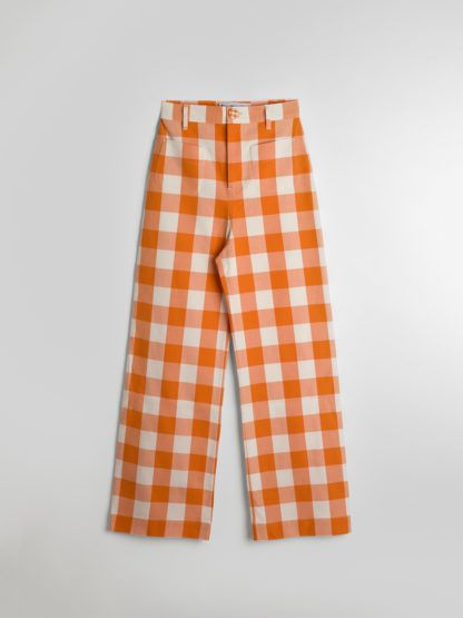 pantalones, cuadros, vichy