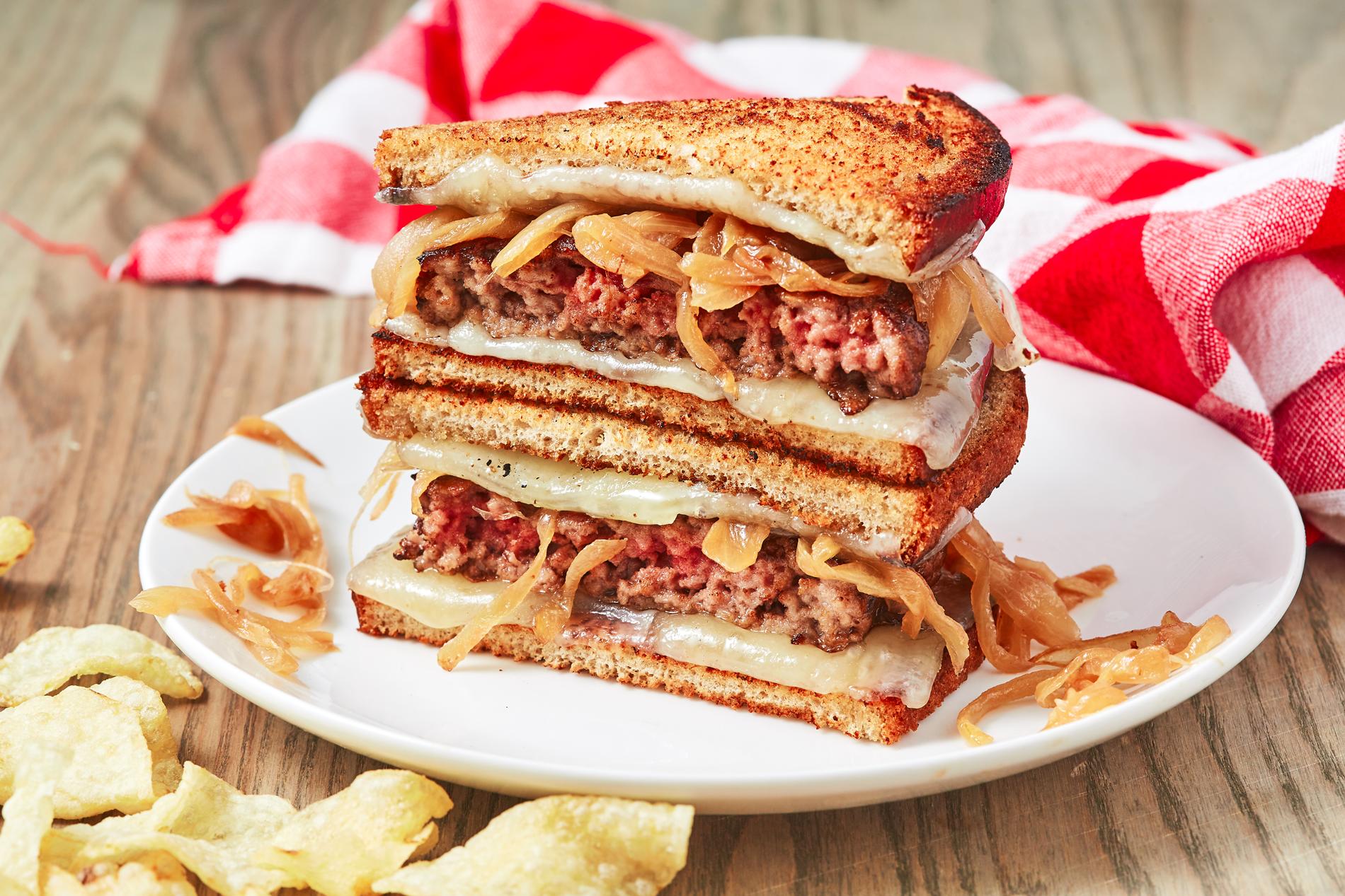 Best Patty Melt Recipe - How to Make Patty Melts